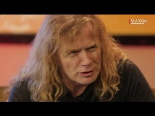 MEGADETH — Русские клипы глазами Дэйва Мастейна (Видеосалон журнала