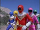 Могучие Рейнджеры 4 сезон - 21 серия Power Rangers Zeo 4 sea
