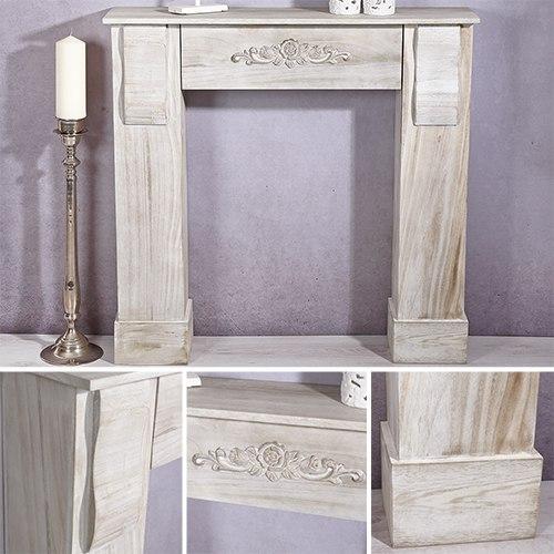 Chimenea decorativa aparador mueble de decoraci n - Chimeneas de adorno ...