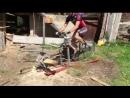 Велосипед-пила