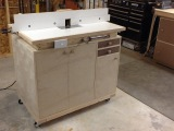 Shop Built -homemade- Router Table And Router lift