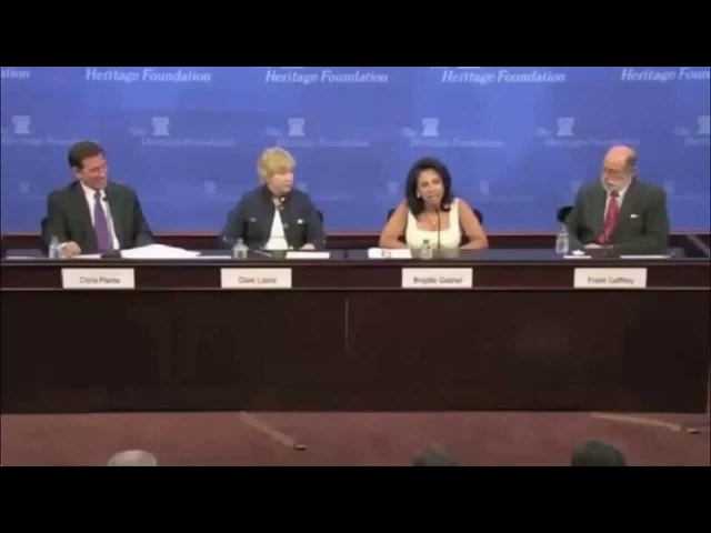 Muslim woman asks a question and probably wishes she didn't