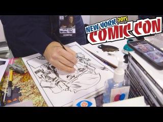 Comic Book Artists Draw Their Favorite Villain as Trump