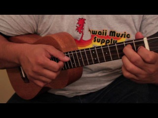 Aaron's Slack Key ukulele lesson Part 2