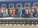 Як з Дніпра до Ковеля їхали, на Бхакті-Сангаму