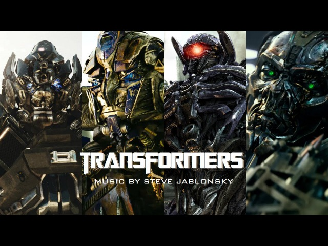 Steve Jablonsky Transformers 2007 2014 Epic Music Collection Interactive *