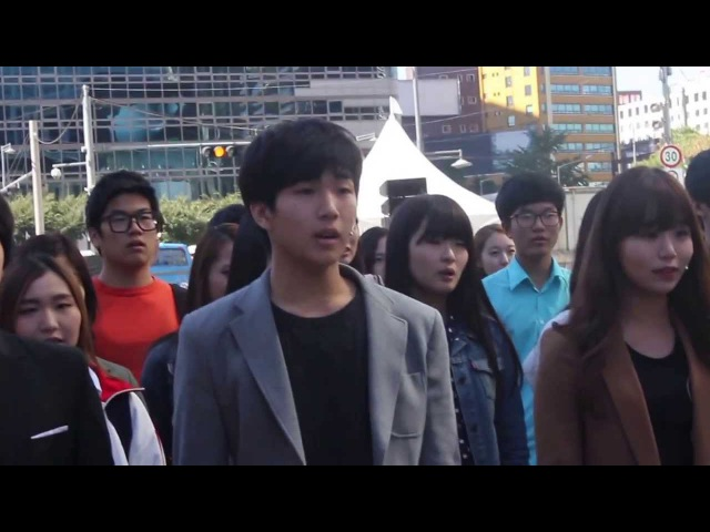 Les miserables flashmob in seoul, Korea/레미제라블 플래시몹 (하이서울 페스티벌 초청작)