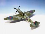 Supermarine Spitfire Mk.IXc Eduard 148 ww2 aircraft model - Part 2