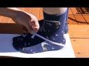 Making cowboy boots - part 1 - taking foot measurements