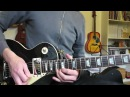 Jamming to my Slash style backing track - Gibson Les Paul and Marshall JVM205c