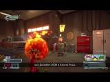 Plants vs. Zombies Garden Warfare 2- геймплей Backyard Battleground