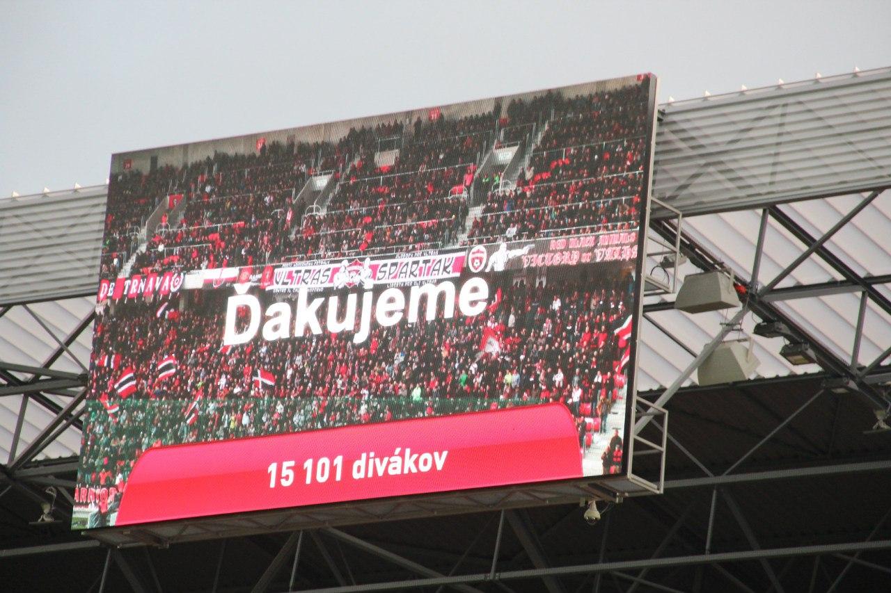 Слован Братислава, Спартак Трнава, высшая лига Словакия