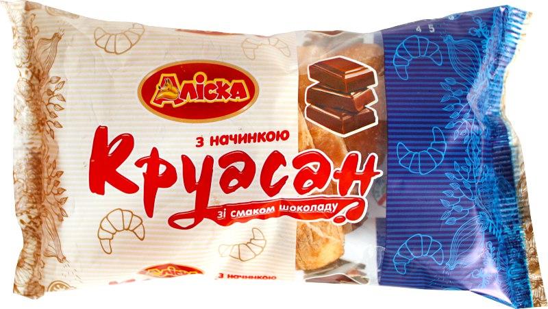 Круасан зі смаком шоколаду, 65 г