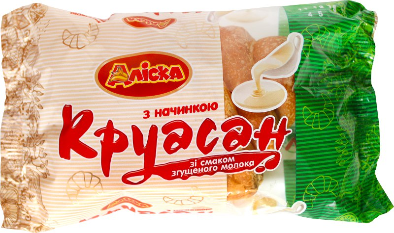 Круасан зі смаком згущеного молока, 65 г