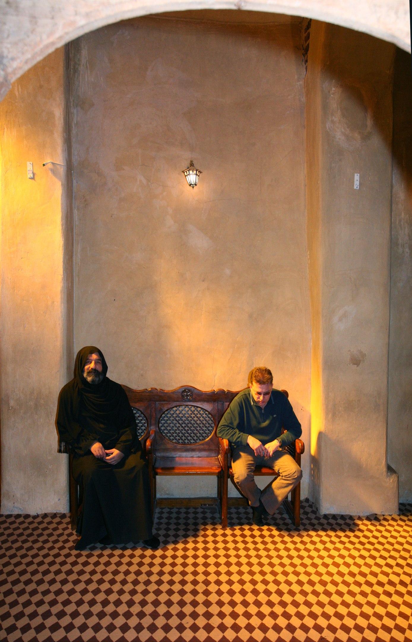 Монах и паломник