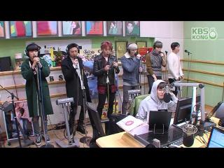"[RADIO] [26.11.15] B.A.P - ""Young, Wild & Free"" -  Super Junior's Kiss the Radio (HD)"