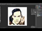 Как сделать поп-арт портрет, пошаговая инструкция. Изготовление эскиза по фото