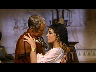 Клеопатра/Cleopatra (1963, Великобритания, США, Швейцария) В главных ролях: Элизабет Тейлор, Ричард Бёртон