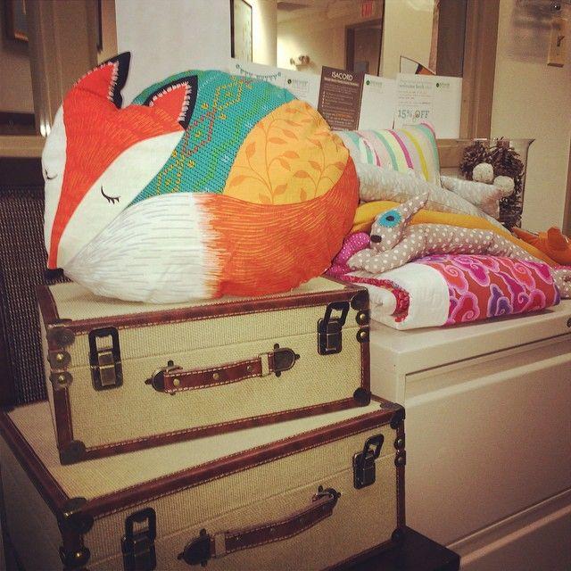 """Панель для подушки""""Лисичка"""""""