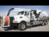 Мегамашины - Очиститель канализации VACTOR 2112