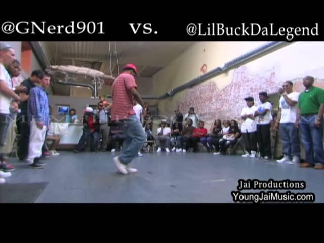 G-Nerd vs Lil Buck - Memphis Jookin Battle 2 - Jai Productions