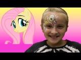 Пони Рисуем Пони на лице. Пони Флатершаи