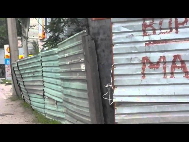 07 07 2015 новости Донецк на украинском ДНР на Порше Ukrainian board in Donetsk militians in Porshe