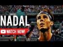 Rafael Nadal Never give up ᴴᴰ