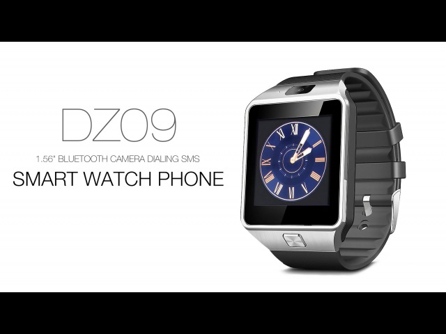 DZ09 1.56 Bluetooth Camera Dialing SMS Smart Watch Phone