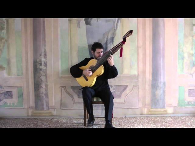 S.L.Weiss - Allemande d-moll , Guitar: Mauro Zanatta