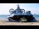 Кадры высадки морского десанта на учениях «Щит Союза-2015»