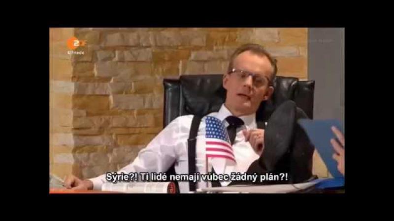 Die Anstalt 20.10.2015 Bavorská vnější politika, o konfliktu v Sýrii_Titulky CZ