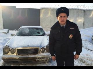 Сержант полиции, рискуя жизнью, пресек преступление