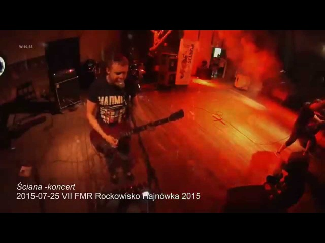 ŚCIANA na VII FMR Rockowisko Hajnówka 2015