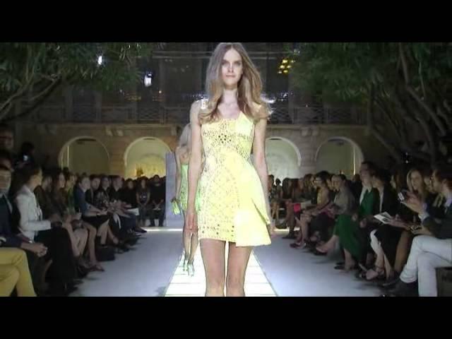 Versace Women's SS12 Fashion Show