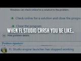 When fl studio crash..