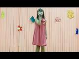 Борщевская Варвара 10 лет, песня на украинском Рушничок