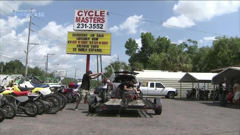 Discovery Гоночный мотоцикл Cafe Racer 3 сезон 2 серия