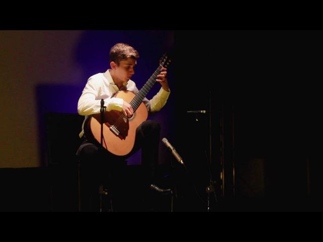Thibaut Garcia Sonata Omaggio a Boccherini IV mov Mario Castelnuovo Tedesco