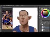 Speed paint Basketball player #2