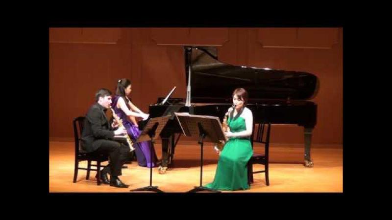 ピアノ三重奏曲 A アレンスキー ジュリアン・プティ、塙美里 Piano Trio