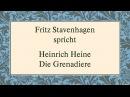 """Heinrich Heine """"Die Grenadiere 1817 1821"""