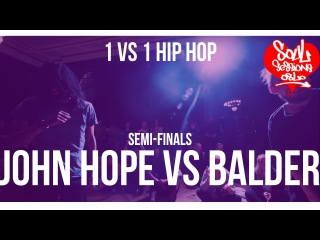 John Hope vs Balder | 1vs1 Hip hop | Semi-finals | Soul Sessions Oslo