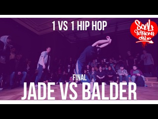 Jade vs Balder | 1vs1 Hip hop | Final | Soul Sessions Oslo