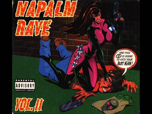 NAPALM RAVE VOL. II [FULL ALBUM 14716 MIN] 1995 HD HQ HIGH QUALITY