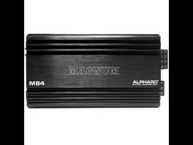 Первый взгляд на усилитель Alphard Magnum M84 (Unpacking)