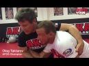 Тактаров Олег: MMA любимые переходы в партере