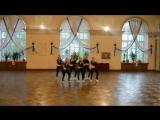 Blessed Queens - женская команда по Jazz Funk для девочек 11-16 лет, тренер Полина Ком