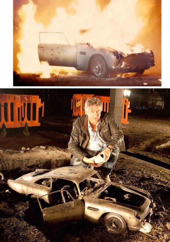 cGkEf7l6P9c - Как снимают фильмы: Кадры из «Джеймса Бонда»
