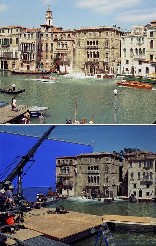 TTPtmOR3grA - Как снимают фильмы: Кадры из «Джеймса Бонда»